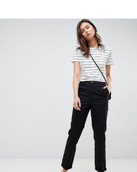 Женские черные брюки чинос от Asos Tall