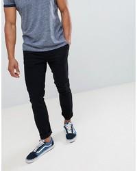 Черные брюки чинос от Burton Menswear