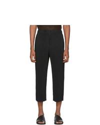 Черные брюки чинос от Homme Plissé Issey Miyake