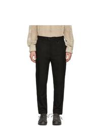 Черные брюки чинос от Isabel Benenato