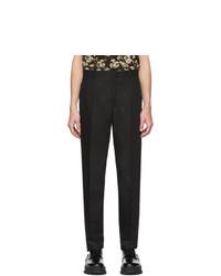 Черные брюки чинос от Jil Sander
