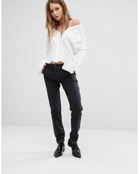 Женские черные брюки чинос от Lee