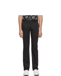 Черные брюки чинос от Naked and Famous Denim