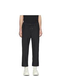 Черные брюки чинос от Oamc
