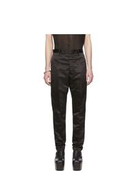 Черные брюки чинос от Rick Owens