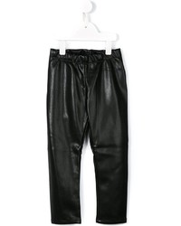 Детские черные брюки для девочке от Simonetta