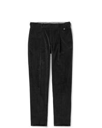 Мужские черные вельветовые джинсы от Caruso