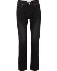Черные джинсы-бойфренды от Balenciaga