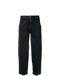 Черные джинсы-бойфренды от Closed