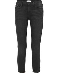 Черные джинсы-бойфренды от Frame