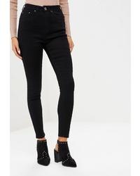 Черные джинсы-бойфренды от LOST INK