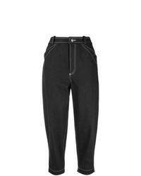 Черные джинсы-бойфренды от Nehera