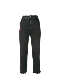 Черные джинсы-бойфренды от Stella McCartney