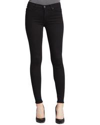 тёмные джинсы женские фото