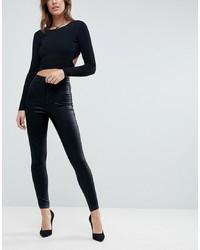 Черные джинсы скинни от ASOS DESIGN