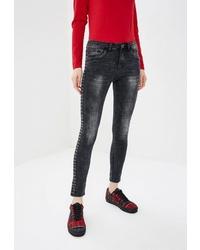 Черные джинсы скинни от Haily's