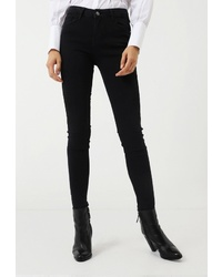 Черные джинсы скинни от Lime