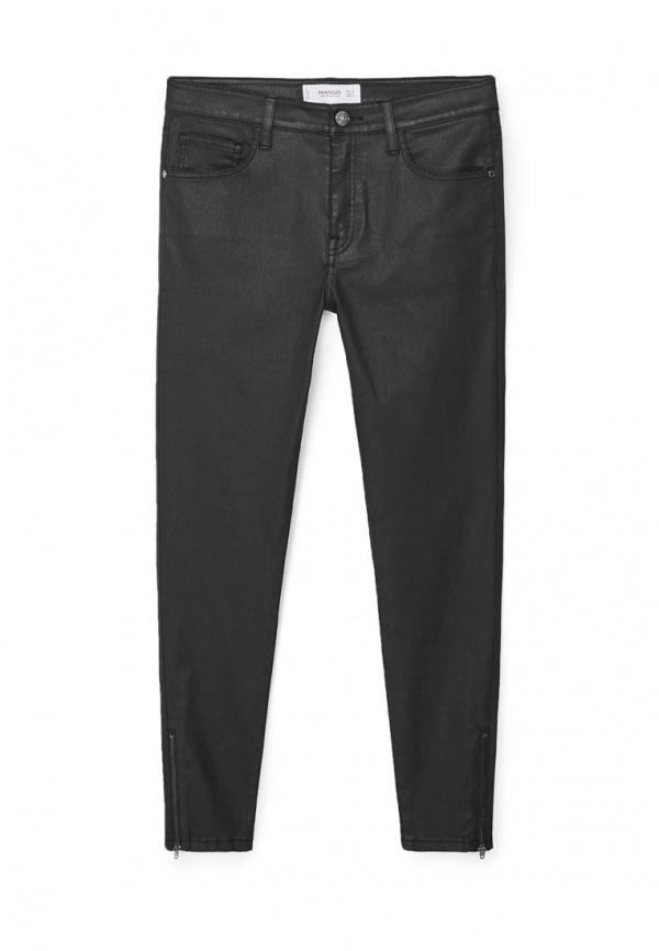 Черные джинсы скинни от Mango