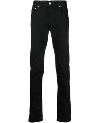 Мужские черные джинсы от Alexander McQueen