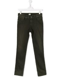 Детские черные джинсы для мальчику от Armani Junior