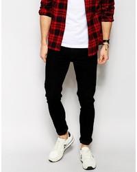 Мужские черные джинсы от Asos