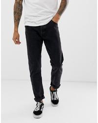Мужские черные джинсы от Bershka