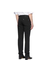 Мужские черные джинсы от Maison Margiela