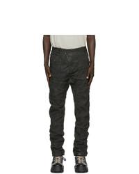 Мужские черные джинсы от Boris Bidjan Saberi