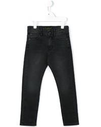 Детские черные джинсы для мальчику от Finger In The Nose