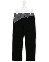 Детские черные джинсы для мальчику от Kenzo