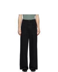 Мужские черные джинсы от Lemaire
