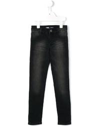 Детские черные джинсы для девочке от Levi's