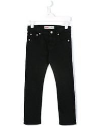 Детские черные джинсы для мальчику от Levi's