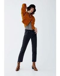 Женские черные джинсы от Pull&Bear