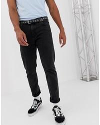 Мужские черные джинсы от Weekday