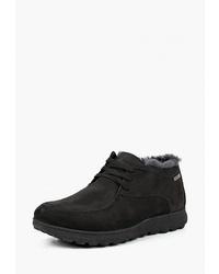 Черные замшевые ботинки дезерты от Matt Nawill