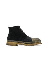 Женские черные замшевые ботинки дезерты от Rocco P.