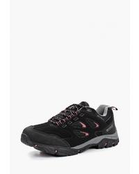 Женские черные замшевые ботинки на шнуровке от Regatta