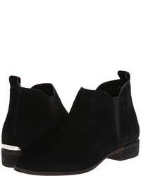 Черные замшевые ботинки челси