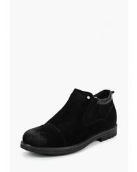 Мужские черные замшевые ботинки челси от Dino Ricci Select