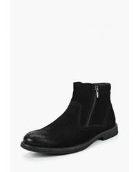 Мужские черные замшевые ботинки челси от Go.Do.