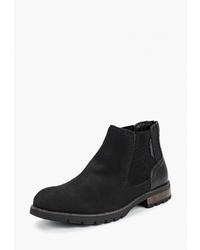 Мужские черные замшевые ботинки челси от Keddo