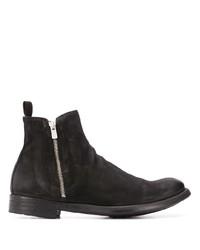 Мужские черные замшевые ботинки челси от Officine Creative