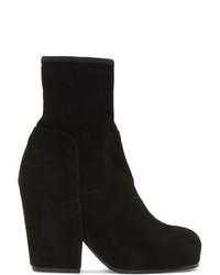 Мужские черные замшевые ботинки челси от Random Identities