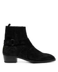 Мужские черные замшевые ботинки челси от Represent