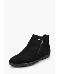 Мужские черные замшевые ботинки челси от Valley