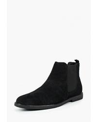 Мужские черные замшевые ботинки челси от Zign