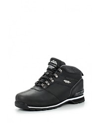 Мужские черные замшевые ботинки от Elong