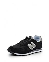 Мужские черные замшевые кроссовки от New Balance