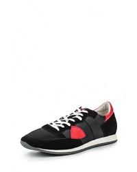 Мужские черные замшевые кроссовки от Pezatti